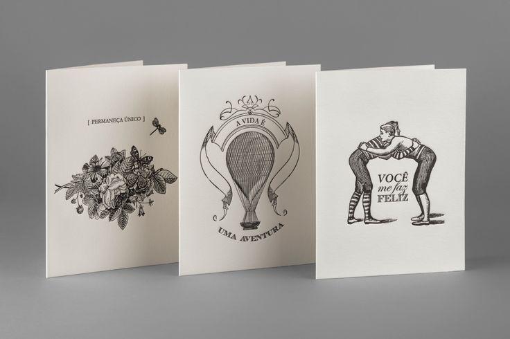 BRAZIL Cristine Bolaina • Letterhaus • Invitation cards & tags • Conqueror Bamboo • Letterpress