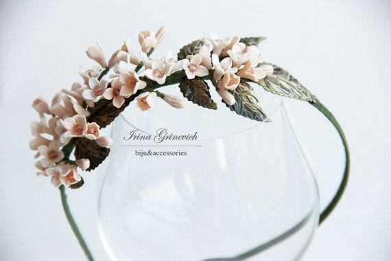 Headband Blooming GardenFlower crown hair от JewelryFloren