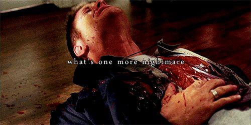 supernatural sam and dean sad meme | supernatural castiel sam and dean nightmares cas ...