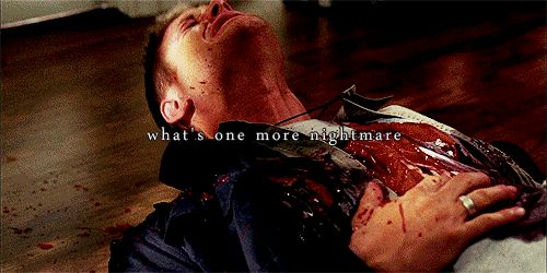 supernatural sam and dean sad meme | supernatural castiel sam and dean nightmares cas ...
