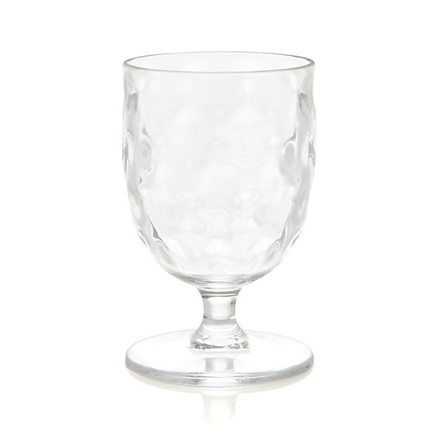 Chill Acrylic Wine Glass in Acrylic Glasses | Crate and Barrel