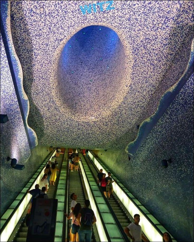 . .  … – #architecture #art #colours #italy #metro