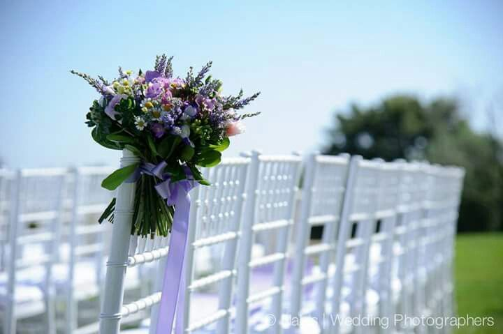 Lilac and Tulle Chairbacks