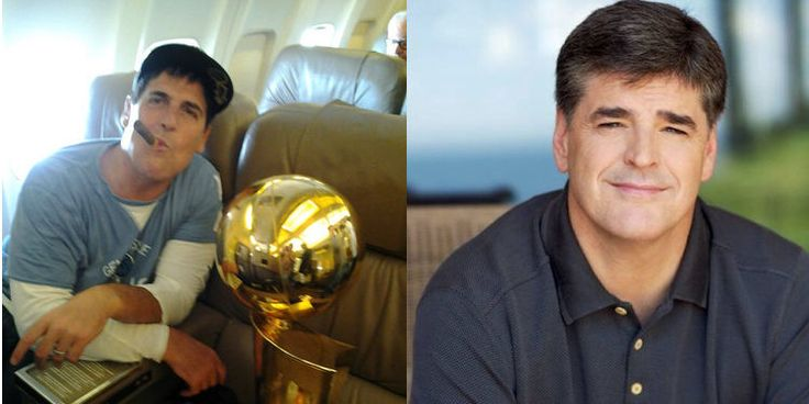 Mark Cuban Hilariously Trolls Sean Hannity's Airport Protest Conspiracy Theories