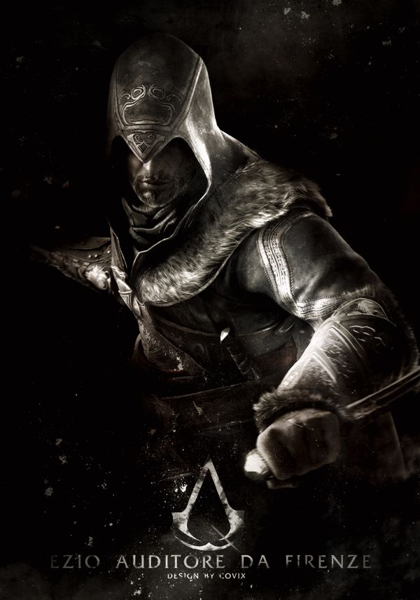 My favorite assassin so far, Ezio Auditore da Firenze.
