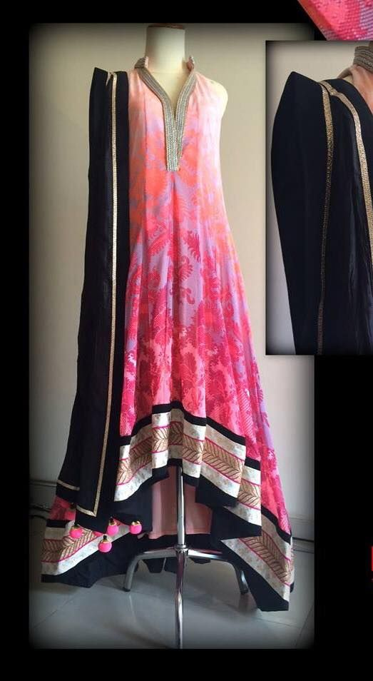 Latest Collection Asian fashion Long Pishwas Dresses & Anarkali Frocks for Women 2015-2016 (27)
