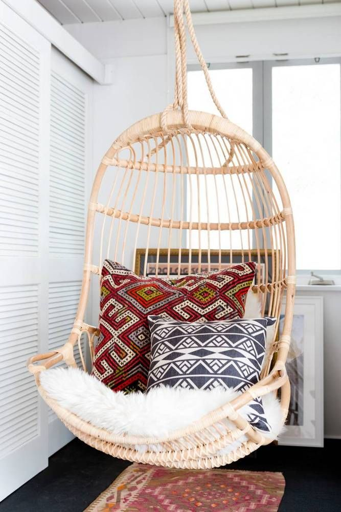 See more images from a boho luxe home that's pure california cool on domino.com