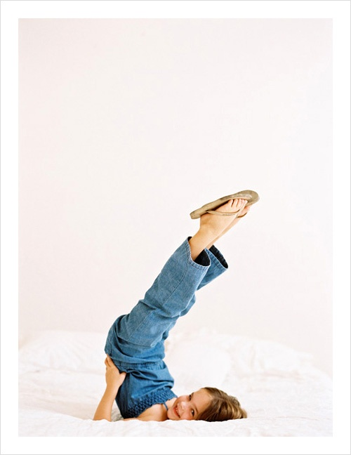 Funny child photography