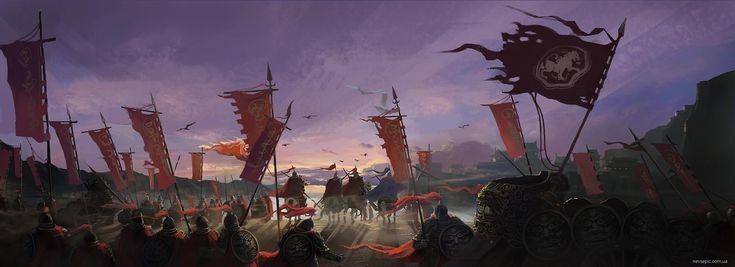 Воины Флаг Восходы и закаты