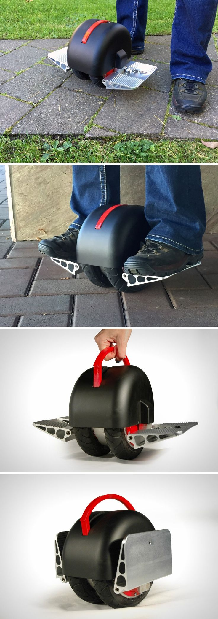 Who thought that one day you could buy a motorized vehicle that was just slightly larger than a hamburger. Aptly named, the Solowheel Iota is officially the smallest hover-board money can buy.