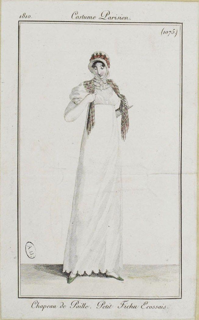 Costume Parisien (1075), 1810.