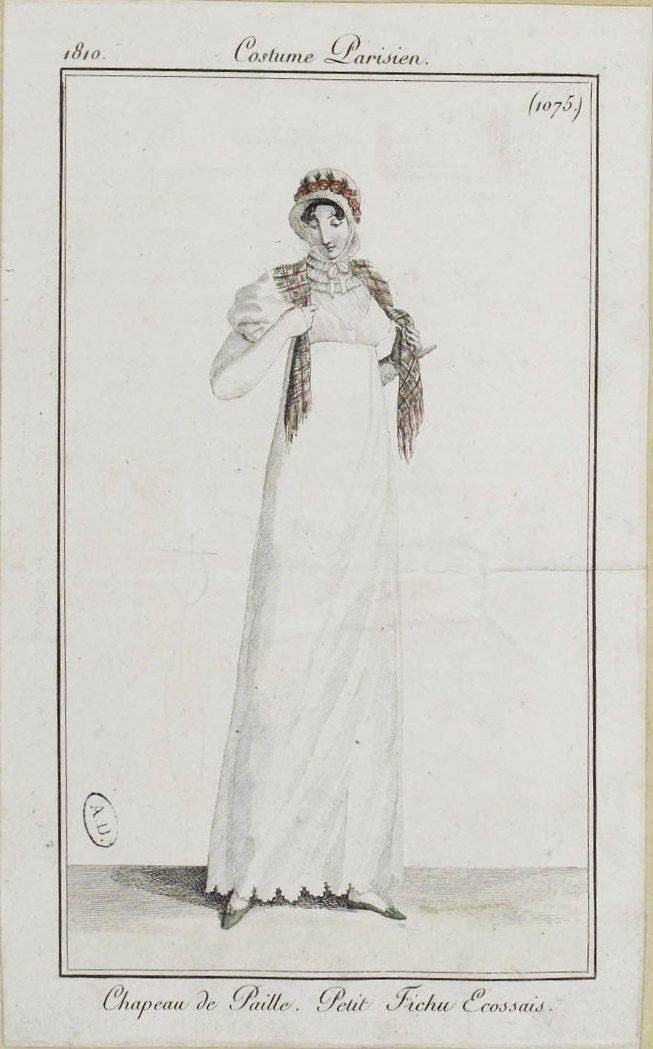 Costume Parisien (1075), 1810.