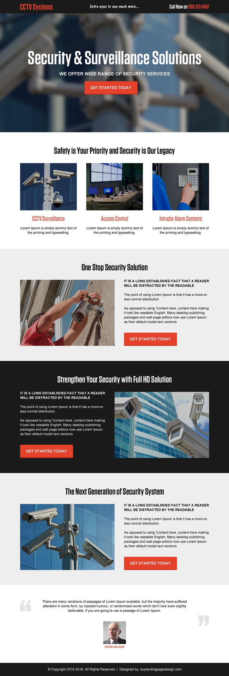 cctv-security-system-solutions-cta-lp-005 | Security landing page design preview.
