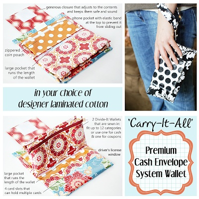 A Time for Everything: Premium Cash Envelope System Wallet Fabrics