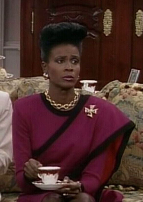 Why the first Aunt Viv kicked the second Aunt Viv's ass!