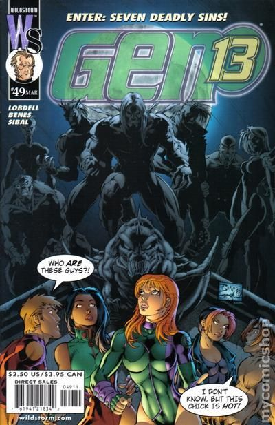 Gen 13 (1995 2nd Series) 49 Image Comics book covers Modern Age