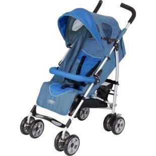 Carrinho de Bebê Burigotto X-Treme Blue, praticidade ao extremo.    Leve e compacto quando fechado.