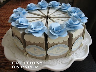 Stampin' Up! Punch Art Cake Slices