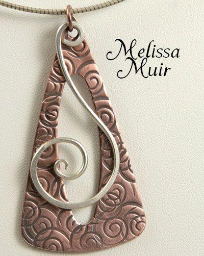 Necklace by  Melissa Muir - Kelsi's Closet Jewelbox Design Journal