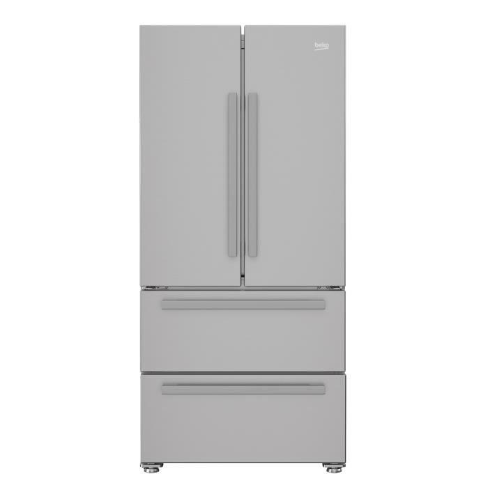 Beko Rem60s Refrigerateur Multi Portes 539l Pas Cher Refrigerateur Cdiscount Iziva Com Refrigerateur Hotte Blanche Froid