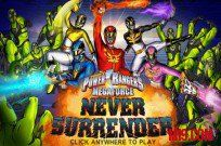 jugar Power Rangers Megaforce: Never Surrender juego