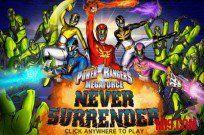 jugar Power Rangers Megaforce: Never Surrender juego