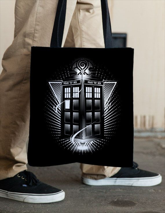 TARDIS Tote by Vincent Carrozza