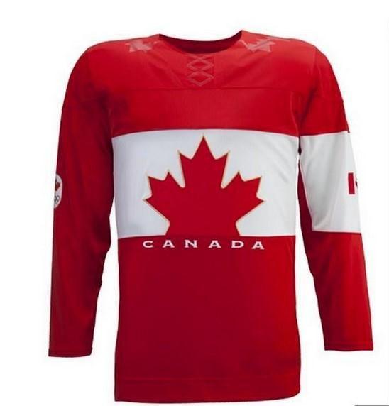 Team Canada 2014 Sochi Winter Olympics Hockey Jersey