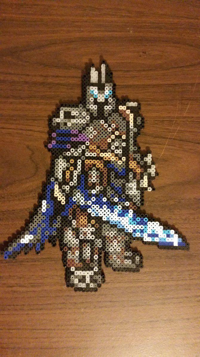 World of Warcraft Lich King Perler by jrfromdallas on DeviantArt