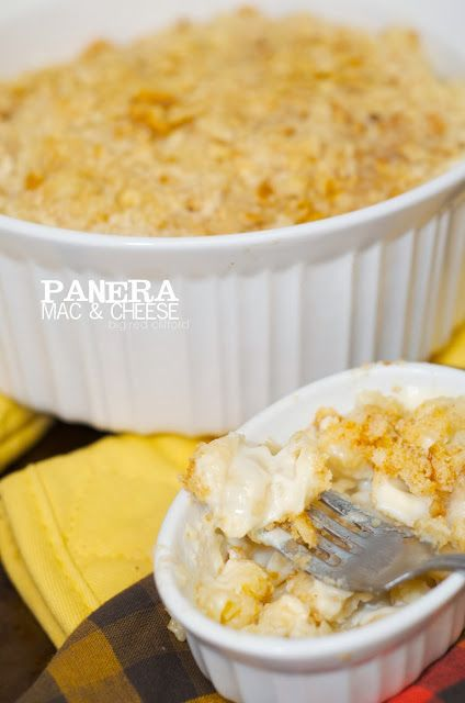 Better-than-panera Mac & Cheese. White and creamy, and the crust that ...