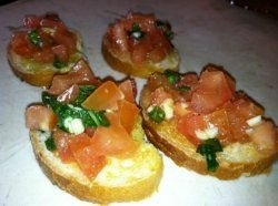Once you know how easy it is to make delicious Bruschetta it will become a great go to for any meal, party or get together. A refreshing appetizer...