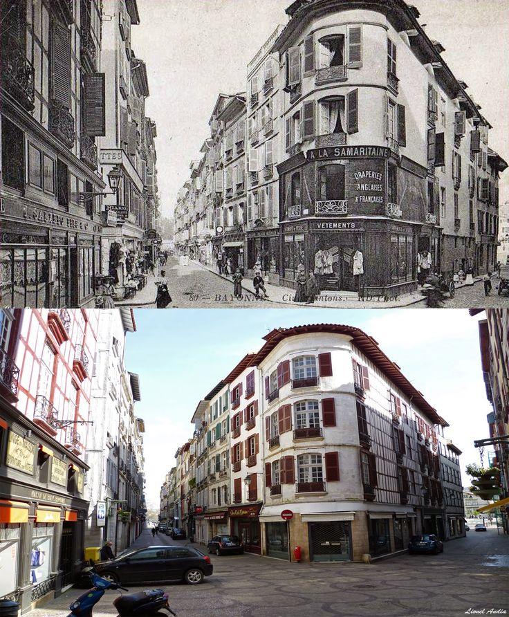 Bayonne, Anglet, Biarritz Autrefois: La place des Cinq Cantons à Bayonne