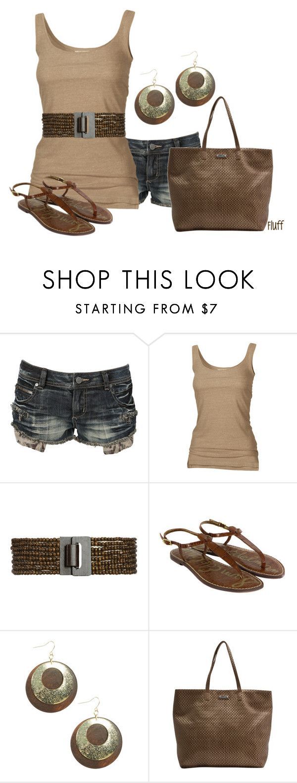 """""""wooden nickle"""" by fluffof5 ❤ liked on Polyvore featuring Crafted, Fat Face, Wet Seal, Sam Edelman and MANGO"""