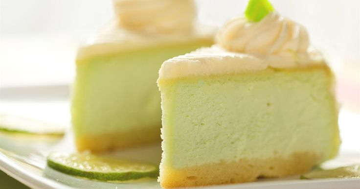 Creamy, tart and positively irresistible, this lime cheesecake will have you turning dinner guests away.