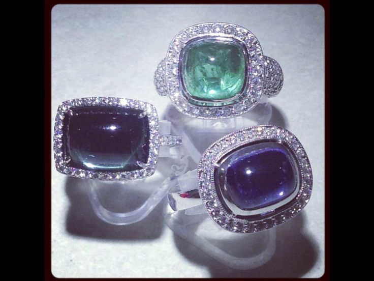 Embrace collection ...                           Designed by mark gold using coloured gems and diamonds