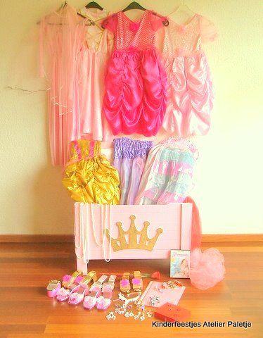 Prinsessenverkleedkist