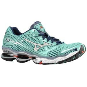 Mizuno Wave Creation 13 - Women's - Running - Shoes - Opal/Silver/Barite
