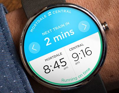 This is an extension of an app I concepted which shows how you could use Android Wear to plan your next public transport trip - https://www.behance.net/gallery/Transport-App/11991391