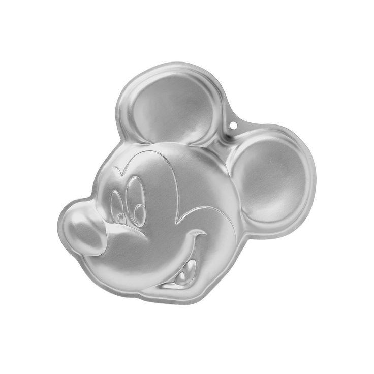 Wilton Disney's Mickey Mouse Nonstick Cake Pan, Multicolor
