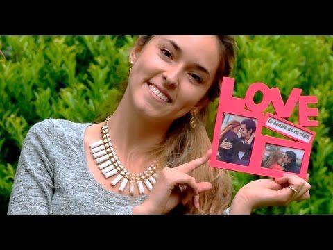 Marco LOVE para 3 fotos de carton super facil - YouTube
