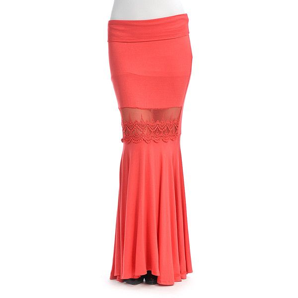 17 best ideas about Coral Maxi Skirts on Pinterest   Cute jewelry ...