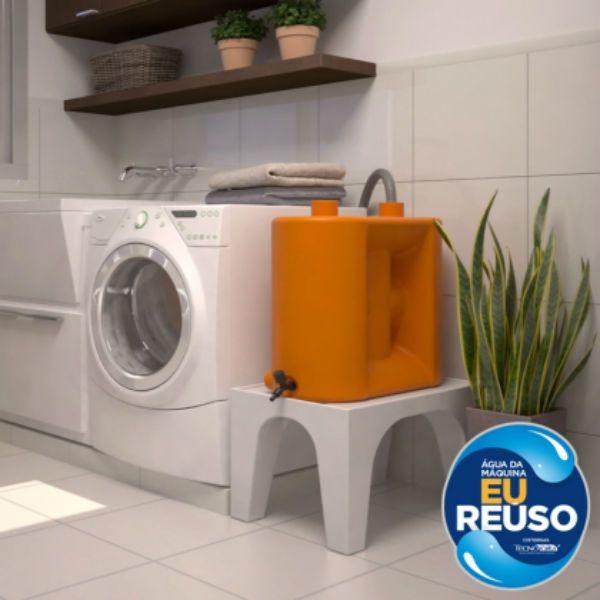 Kit reúso de água para máquina de lavar roupa é prático e economiza