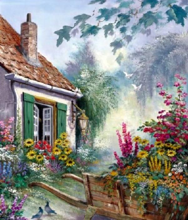 Countryside Paintings by Reint Withaar   Cuded