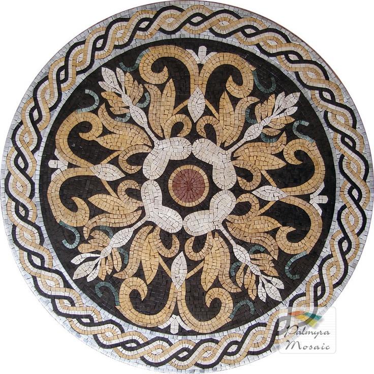 MD001 Marble Mosaic Medallion