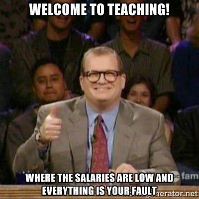 Drew tells is like it is #teacherproblems