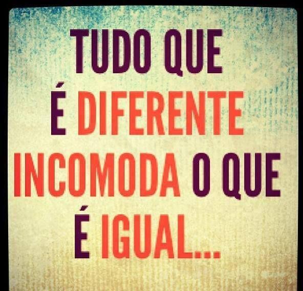 Seja o que for, seja original!
