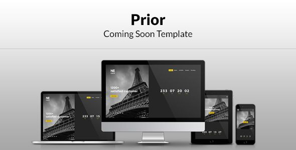 Prior Coming Soon Template - Under Construction Specialty Pages