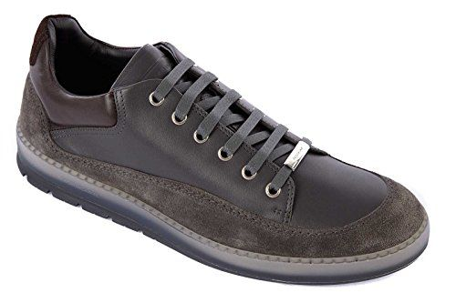 Dior men's shoes leather trainers sneakers grey