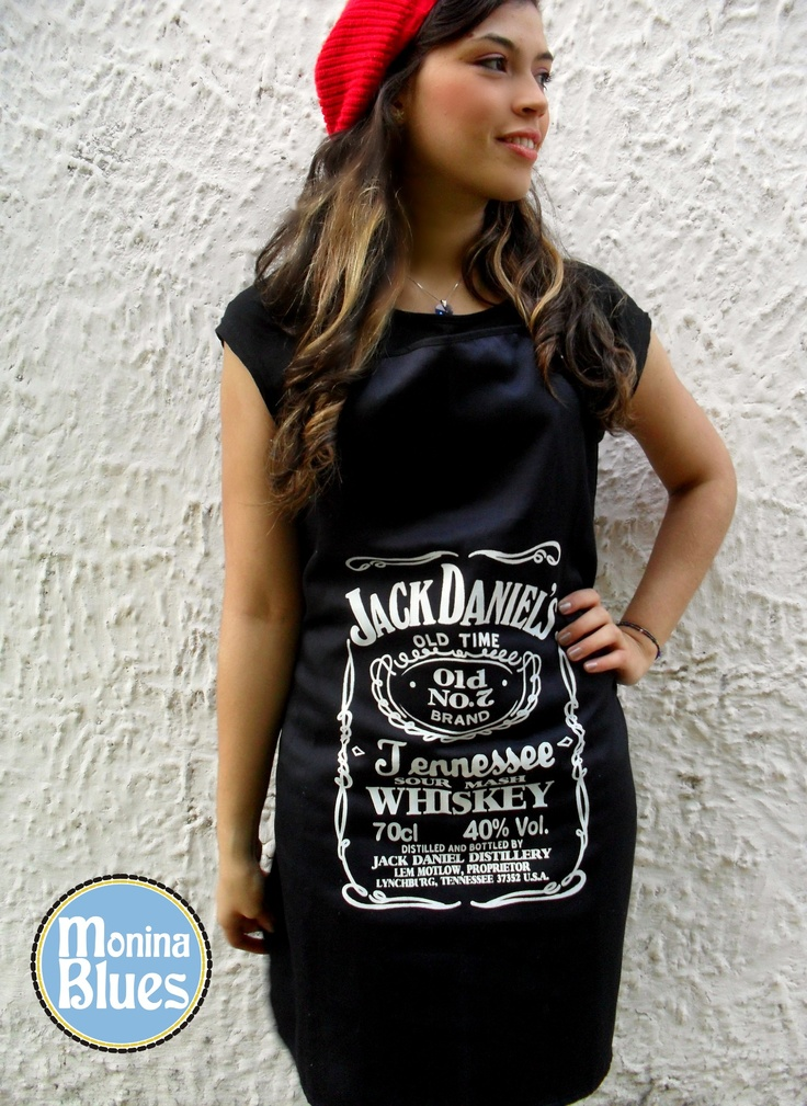 Jack Daniel's Apron by Monina Blues