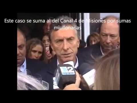 Mauricio Macri acosado por las denuncias de corrupción en Tandil